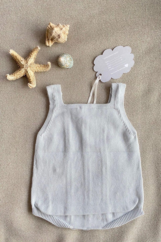 Roupa de verão para recém-nascidos