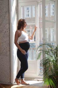 calças de ganga para grávida