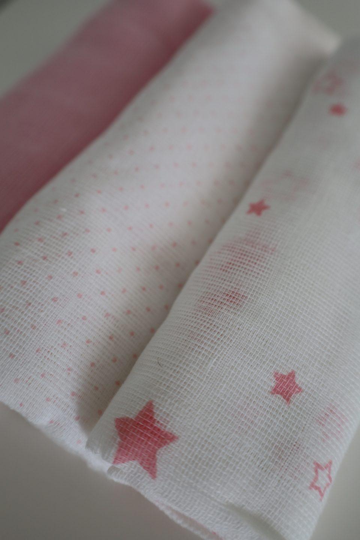 fraldas de algodão