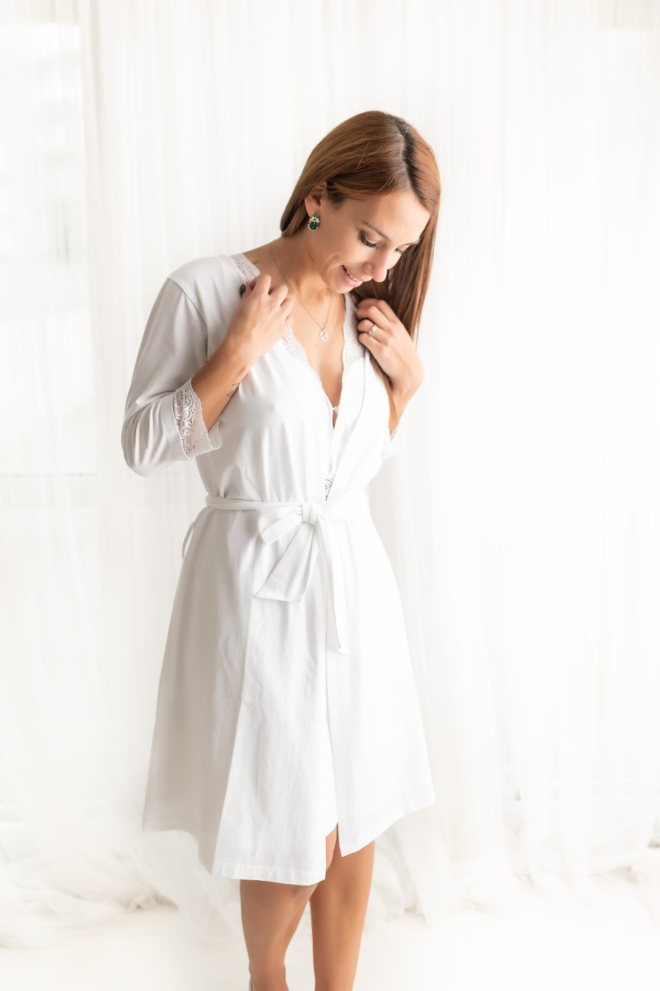 BB Sleep Kit -camisa de noite e robe
